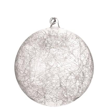 Vánoční koulička 10 cm BLIZZARD_0