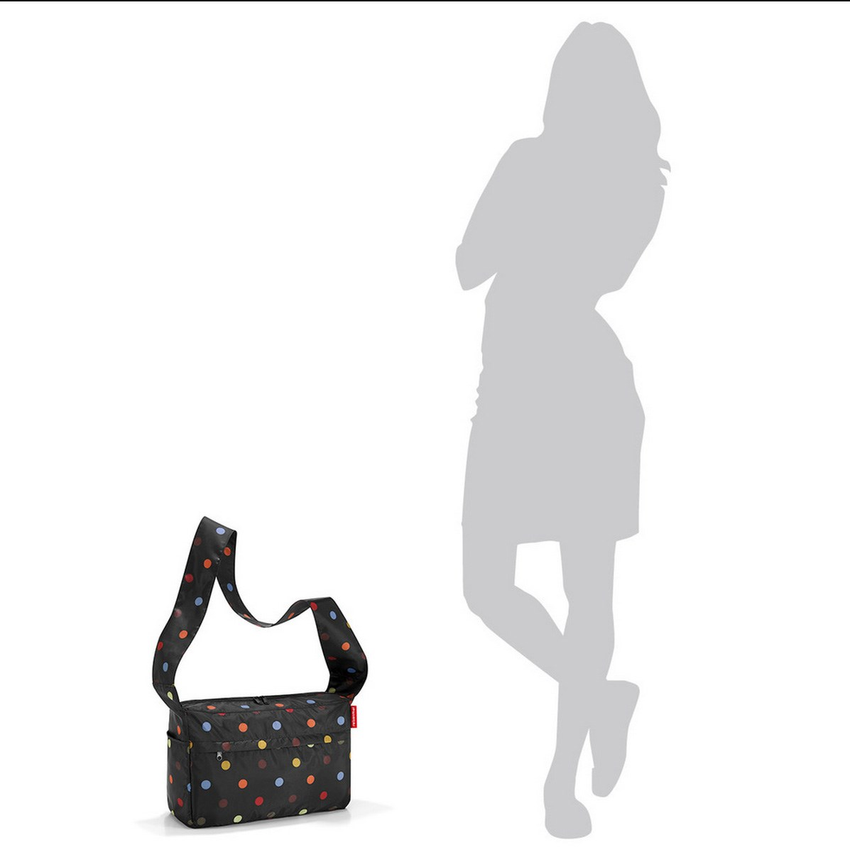 Skládací taška MM CITYBAG dots_1