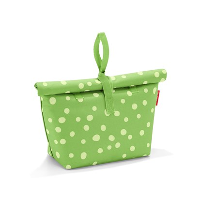 Termotaška FRESH LUNCHBAG ISO M spots green_3