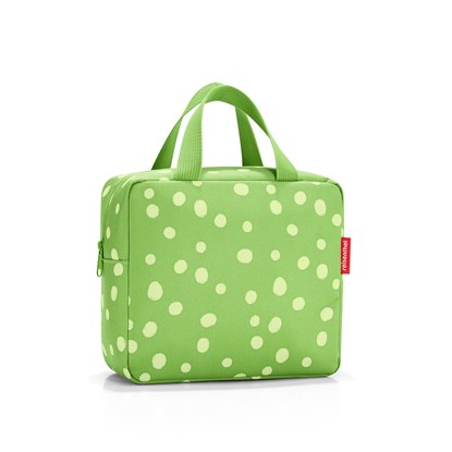 Termotaška na oběd FOODBOX S spots green_3