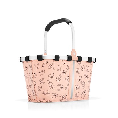 Košík Carrybag XS kids cats and dogs rose_6