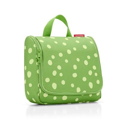 Toaletní taška TOILETBAG spots green_1