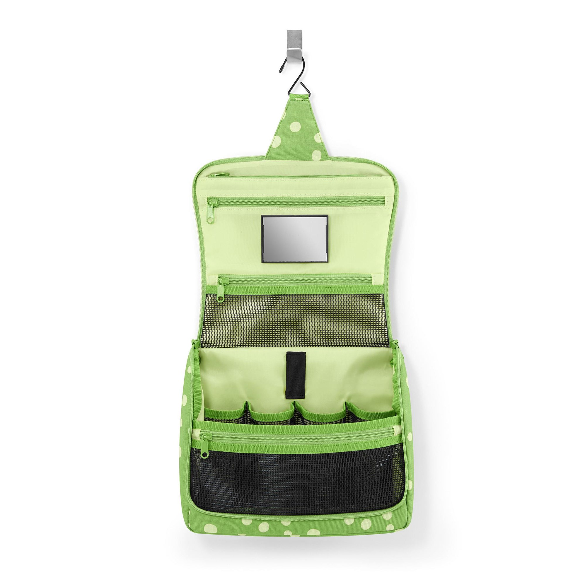 Toaletní taška TOILETBAG XL spots green_0