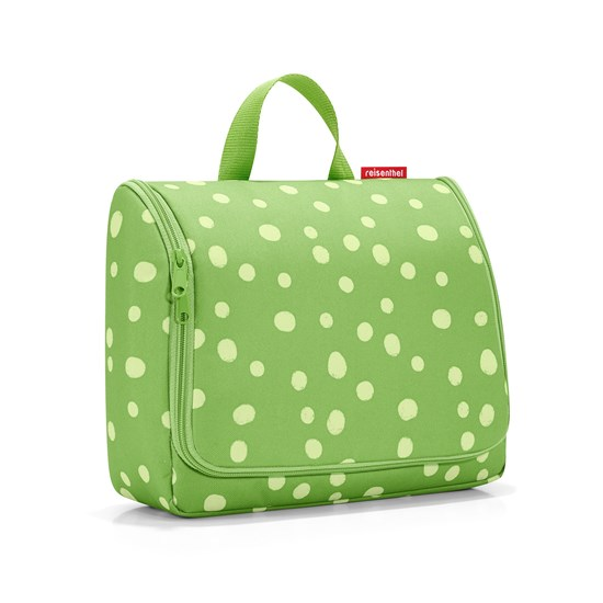 Toaletní taška TOILETBAG XL spots green_1