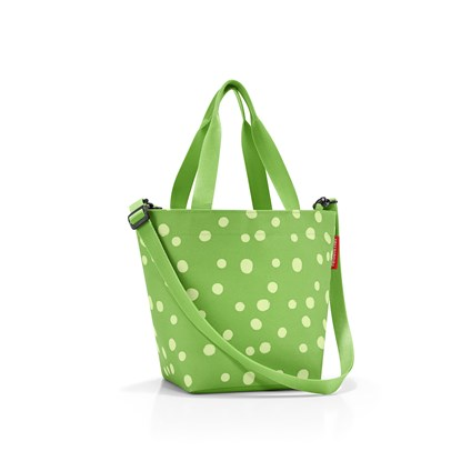 Taška / kabelka SHOPPER XS spots green_1