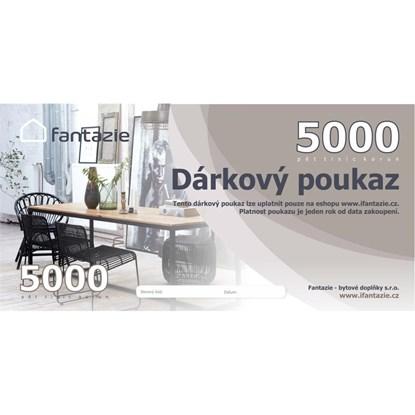 Dárková poukázka v hodnotě 5000 Kč_0