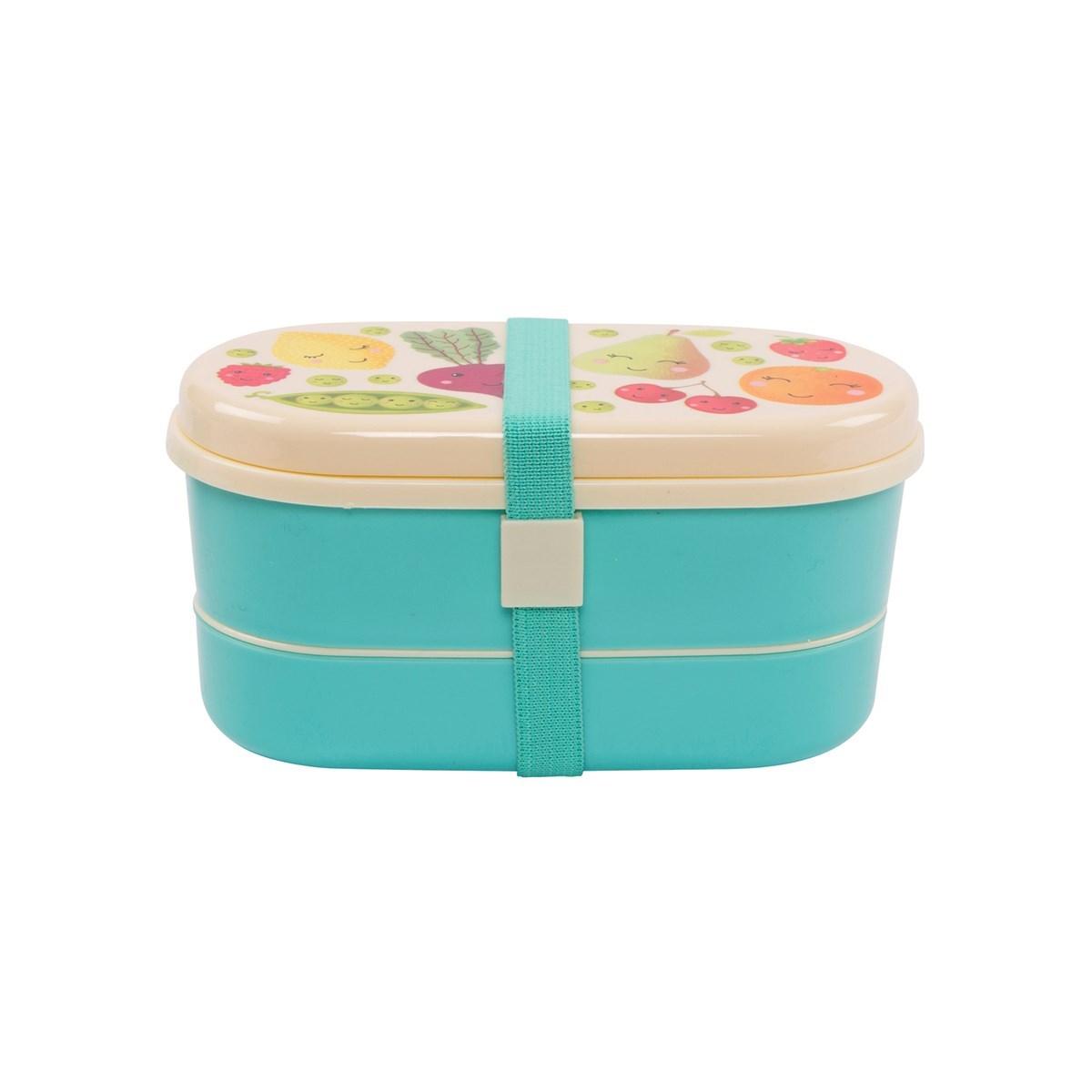 Box na svačinu/oběd HAPPY FRUIT & VEG_1