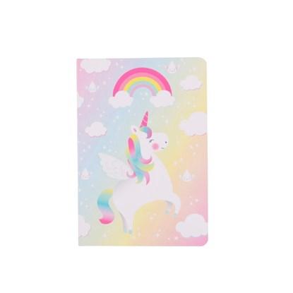 Poznámkový blok A6 Rainbow Unicorn Pocke_1