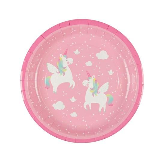 Papírový talíř Rainbow Unicorn SET/8ks_0