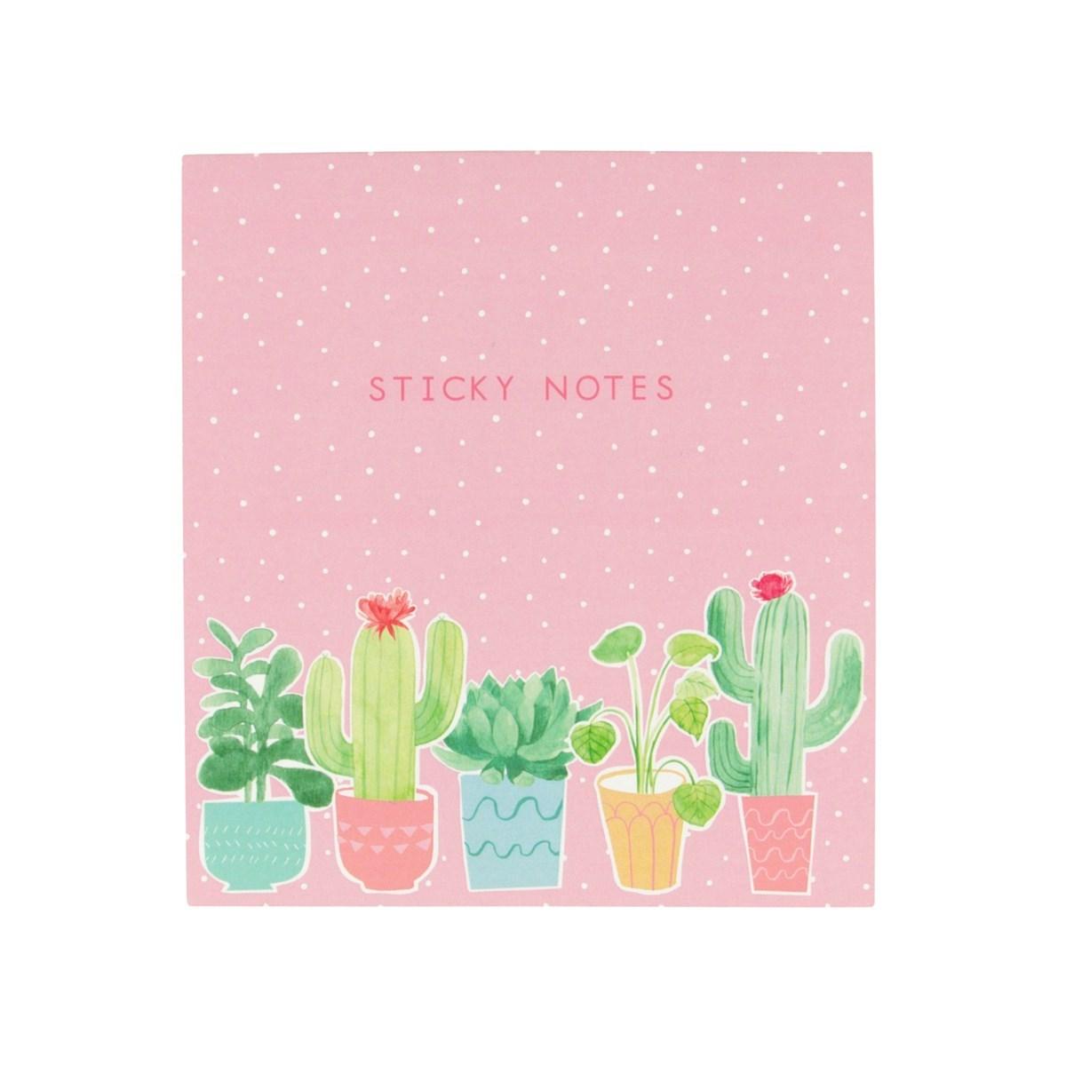 Poznámkový set Pastel Cactus_1