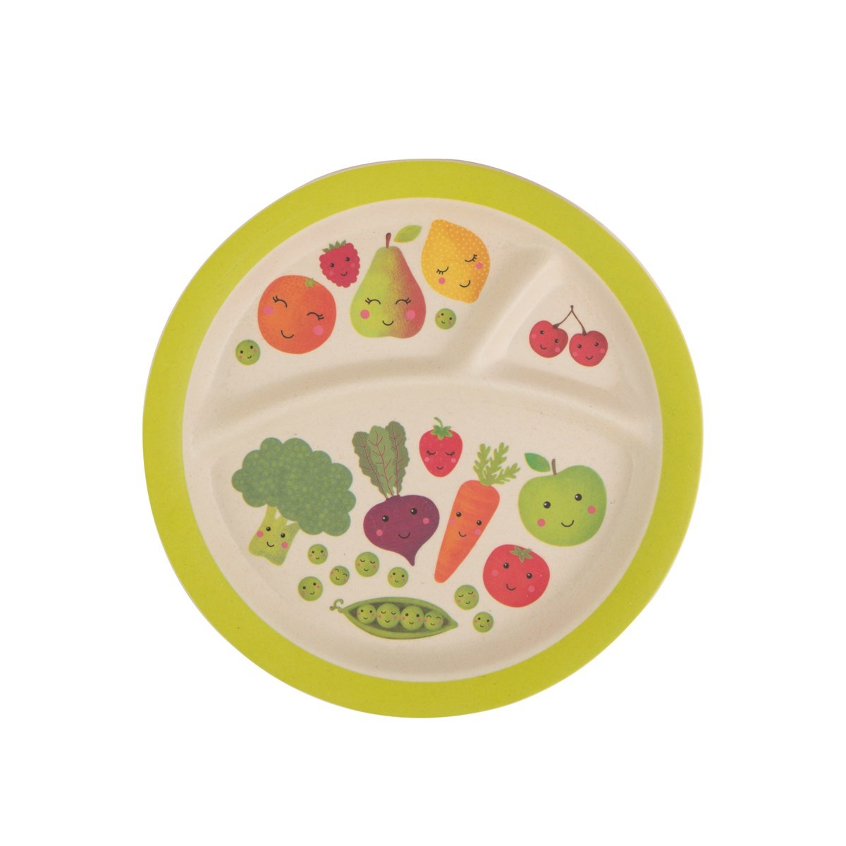 Dětský talíř Happy Fruit & Veg 21cm_3