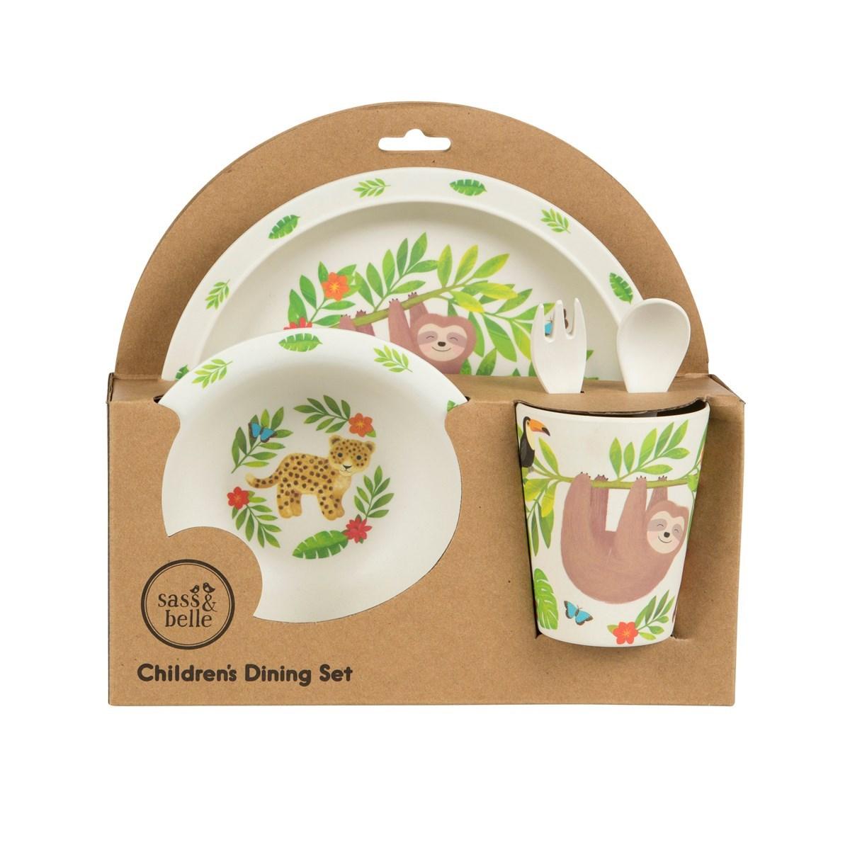 Dětský jídelní SET Treetop Friends_1