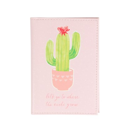 Pouzdro na doklady Pastel Cactus_2