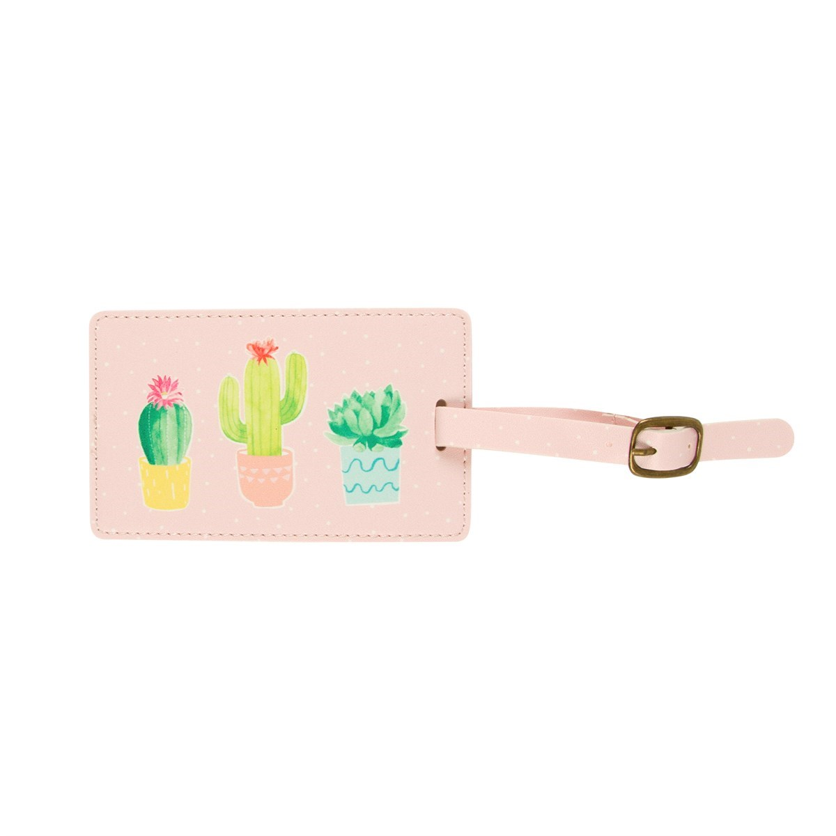 Visačka na zavazadlo Pastel Cactus_1