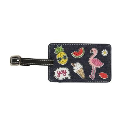 Jmenovka na zavazadlo Patches & Pins_1