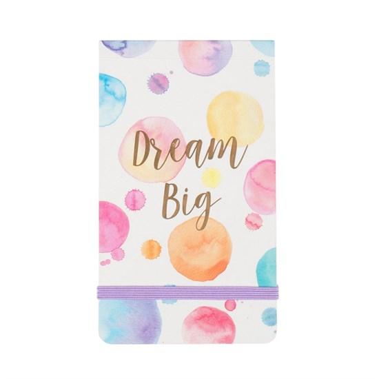 Poznámkový blok Dream Big Paint Splash_1