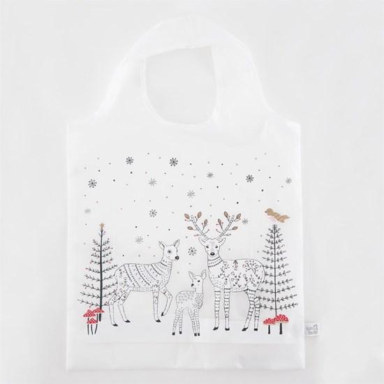 Skládací nákupní taška Winter Forest Fol_0