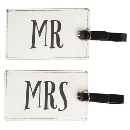 Visačka na kufr MR & MRS 2 dr. cena/ks_1