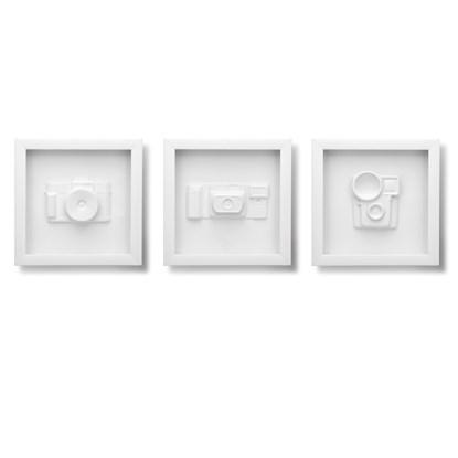 Dekorace na zeď CANDID set/3 ks_0
