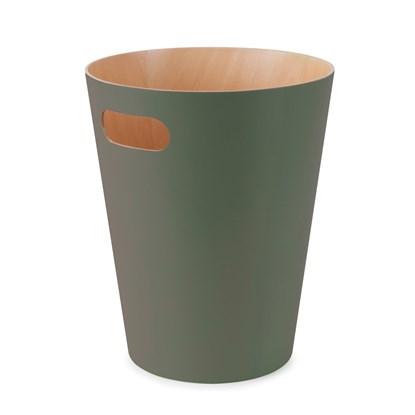Odpadkový koš WOODROW 28cm zelený_0
