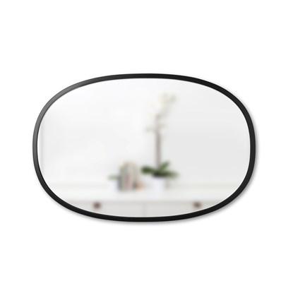 Zrcadlo HUB oválné černé_1