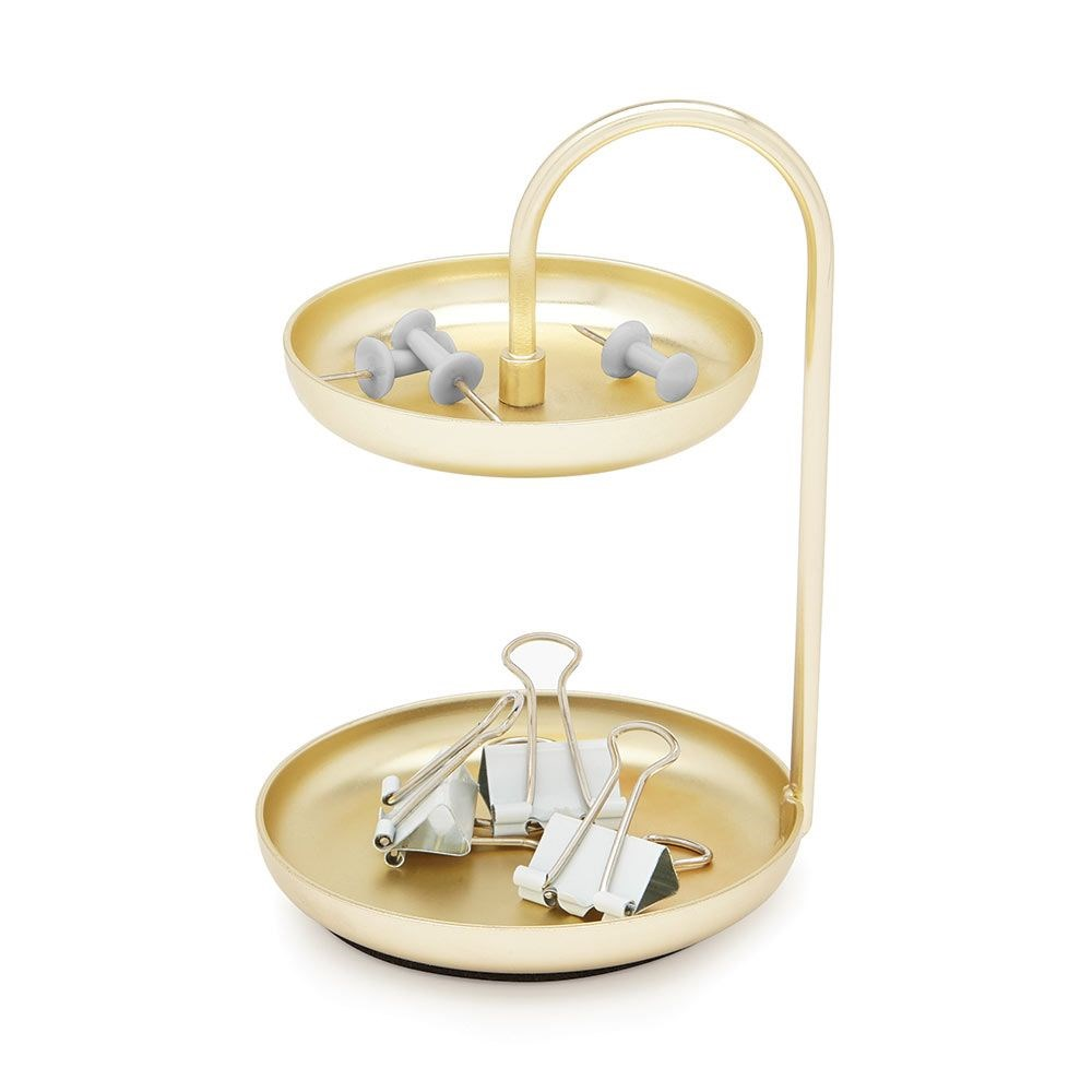 Šperkovnice POISE 10 cm mosazná_1