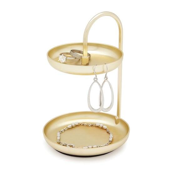 Šperkovnice POISE 10 cm mosazná_3