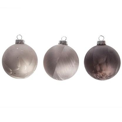 Skleněné vánoční kouličky 3 barvy cena/1_0