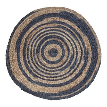 Koberec ručně tkaný černobéžový 80cm_0