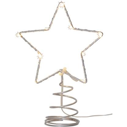 LED hvězda TOPSY na špičku stromku 20 cm_1