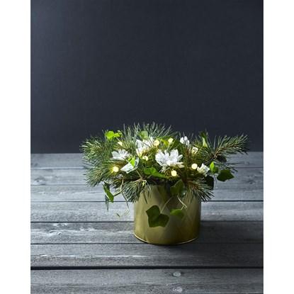 Svět. dekorace + perly do květin 10x LED_2