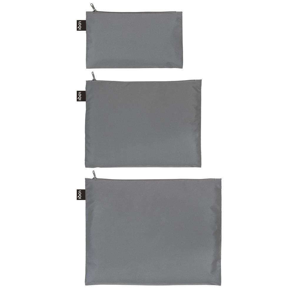 Cestovní kapsičky na zip SET/3ks LOQI -_0
