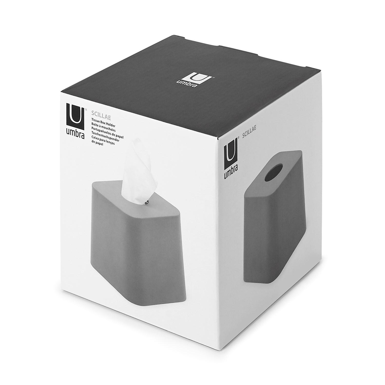 Box na kapesníčky SCILLAE šedý_1