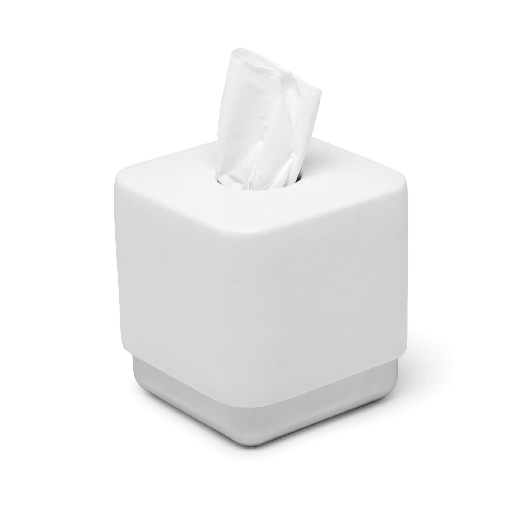 Box na papírové kapesníky JUNIP bílý_0