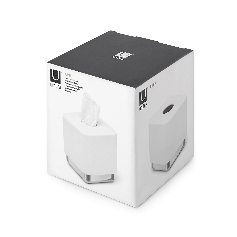 Box na papírové kapesníky JUNIP bílý_2