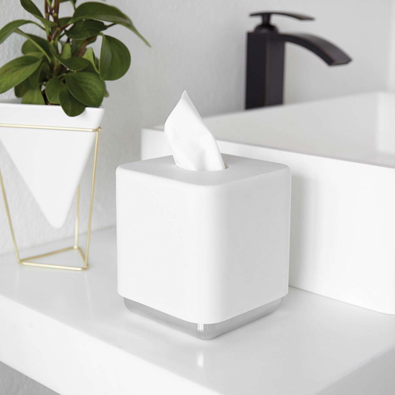 Box na papírové kapesníky JUNIP bílý_3
