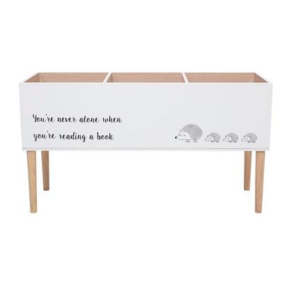 Dřevěná knihovna do dětského pokoje 90xV.50 cm_4