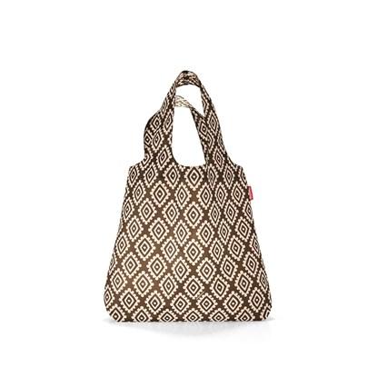 Skládací taška MINI MAXI SHOPPER diamonds mocha_1