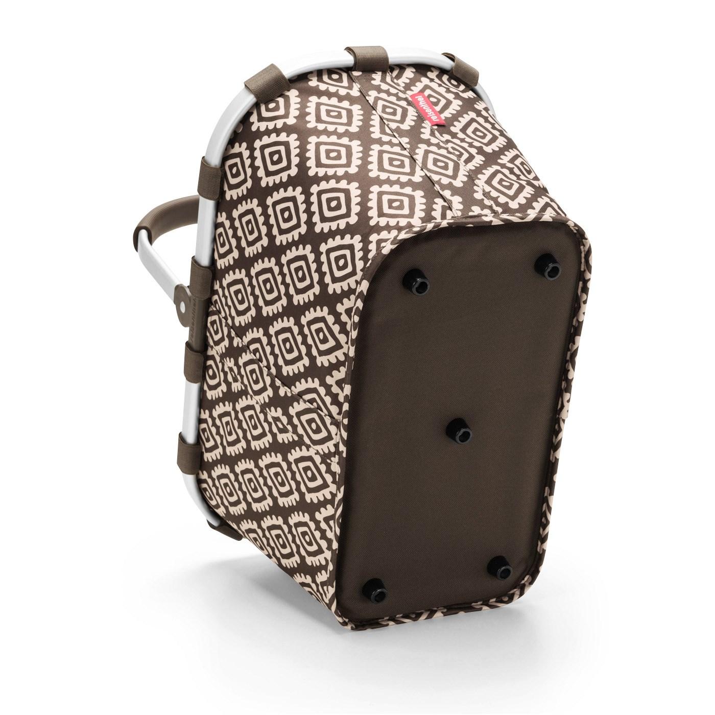 Nákupní košík CARRYBAG diamonds mocha_0