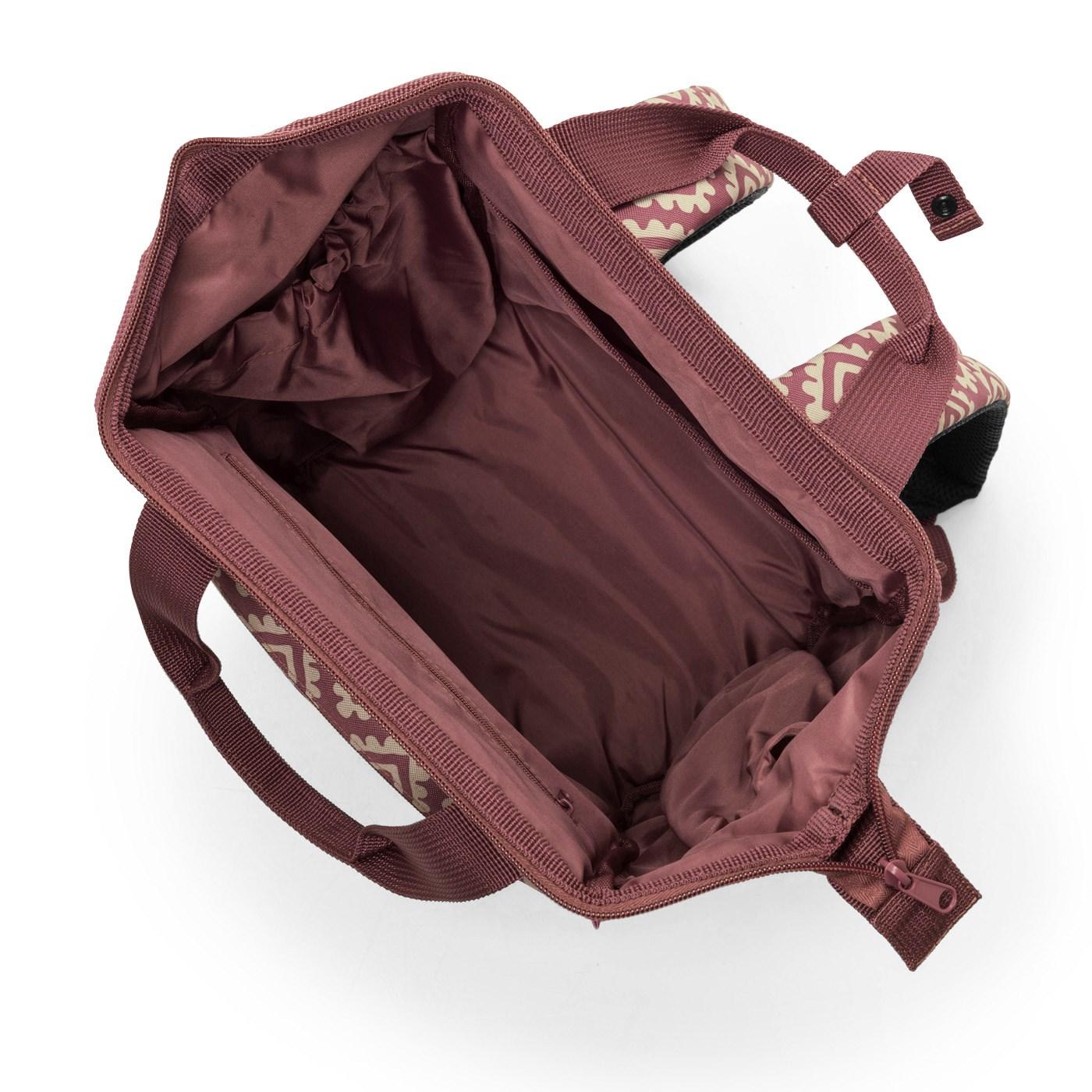Batoh/cestovní taška ALLROUNDER R diamonds rouge_0