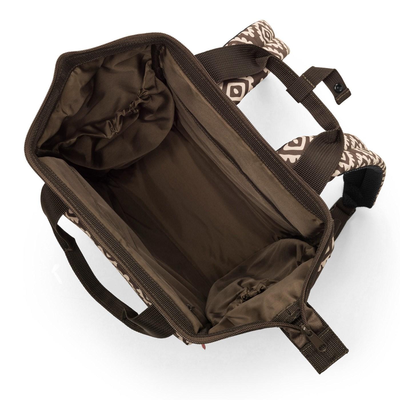 Batoh/cestovní taška ALLROUNDER R diamonds mocha_0