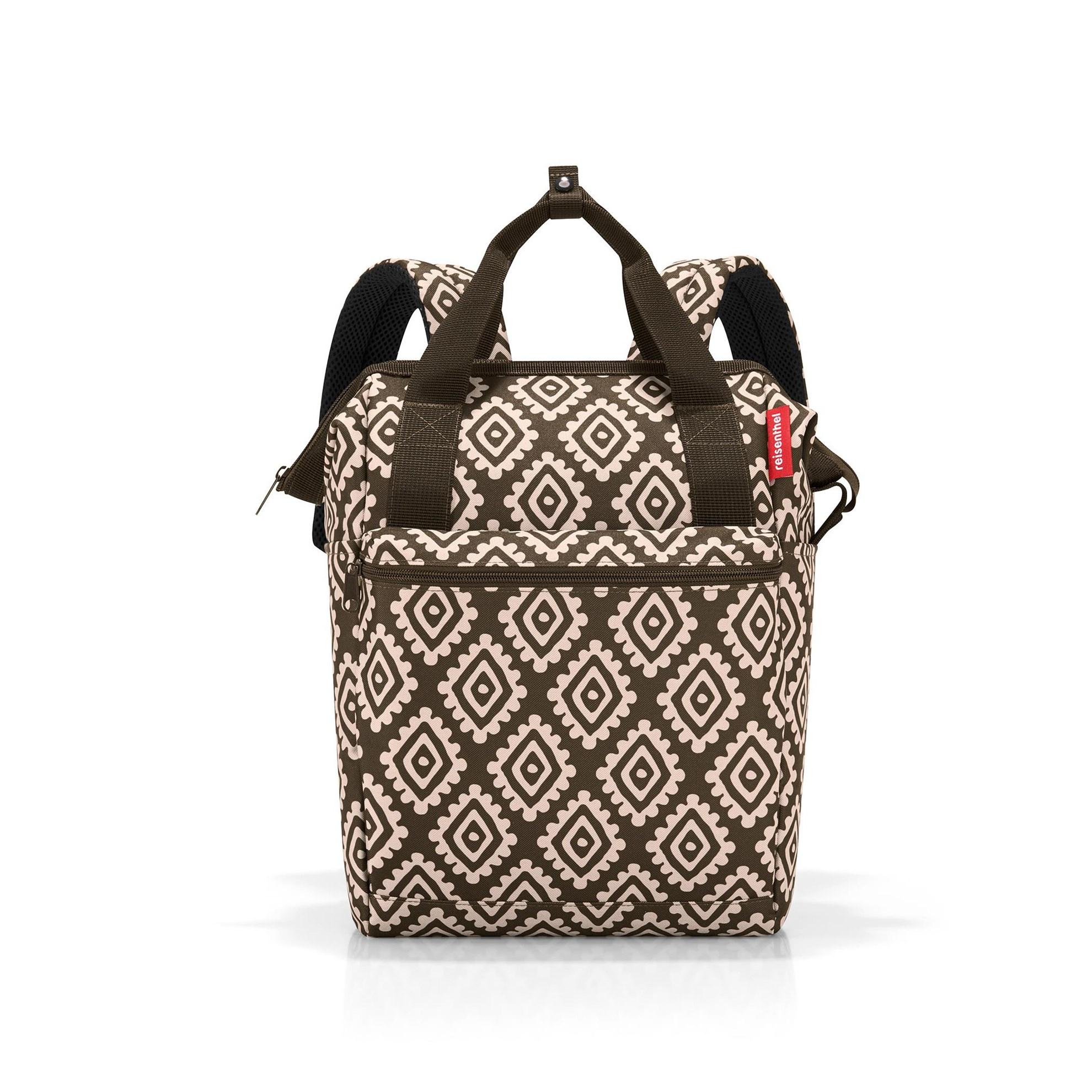 Batoh/cestovní taška ALLROUNDER R diamonds mocha_1