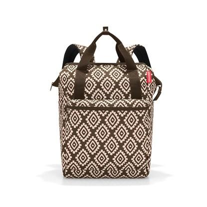 Batoh/cestovní taška ALLROUNDER R large diamonds mocha_1