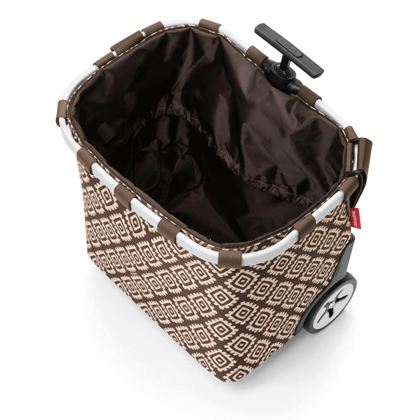 Taška na kolečkách CARRYCRUISER diamonds mocha_0