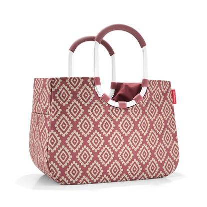 Nákupní taška LOOPSHOPPER L diamonds rouge_1