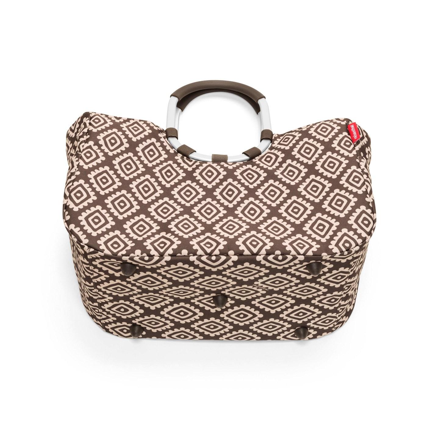 Nákupní taška LOOPSHOPPER L diamonds mocha_0