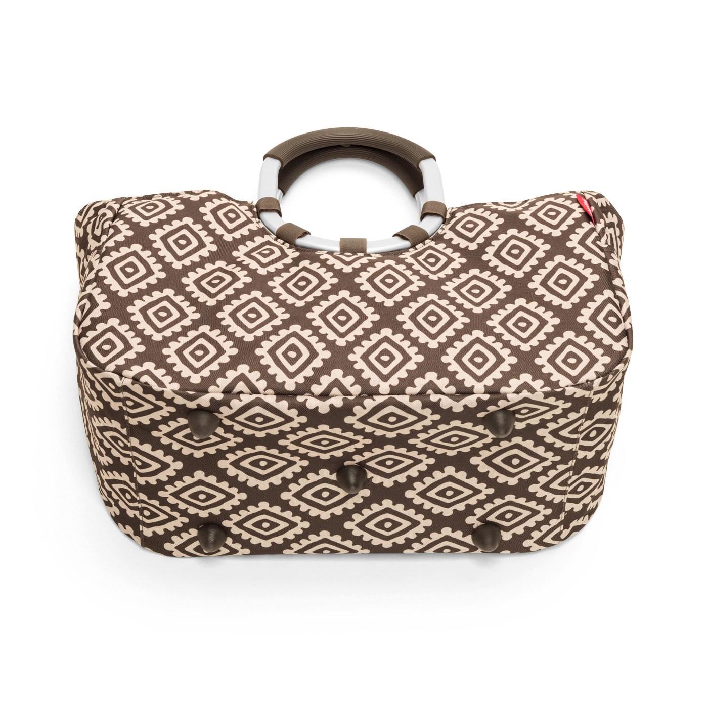 Nákupní taška LOOPSHOPPER M diamonds mocha_1