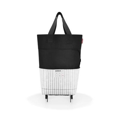 #urban rollbag - rolovatelná taška na kolečkách - berlin black & white_1