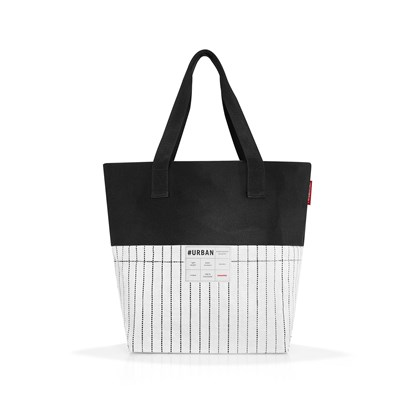 #urban bag - taška - paris black & white_1