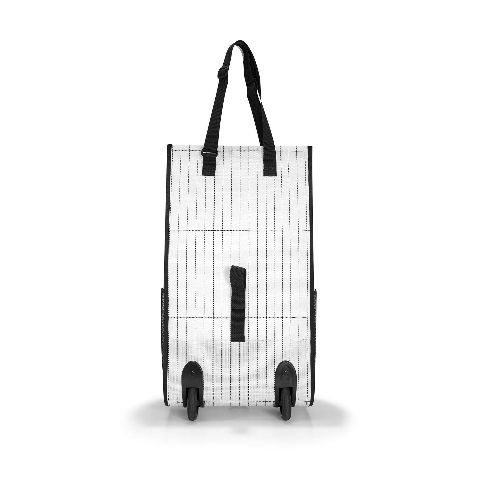 #urban rollshopper - taška / taška na kolečkách - amsterdam black & white_0